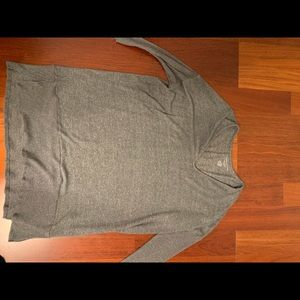 American Eagle Outfitters Dresses - sweater dress,worn once! dark green/gray loose-fit